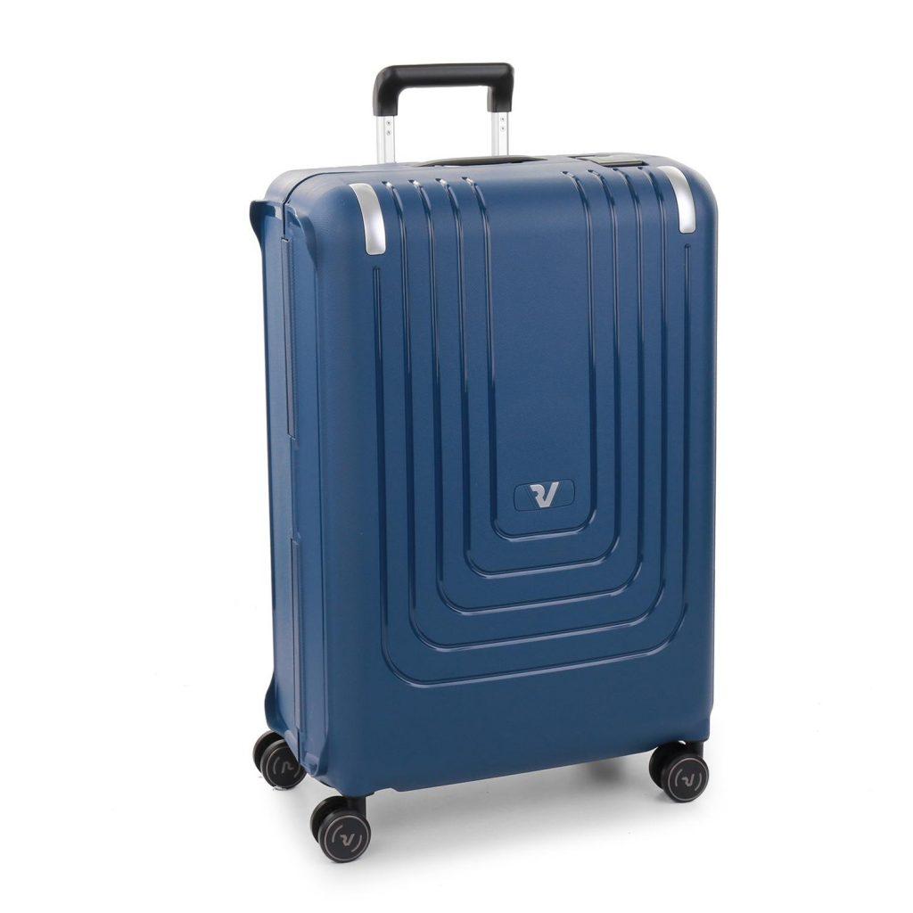 Vali kéo nhựa size 28, 30 cỡ lớn Roncato Nexus màu xanh dương đậm