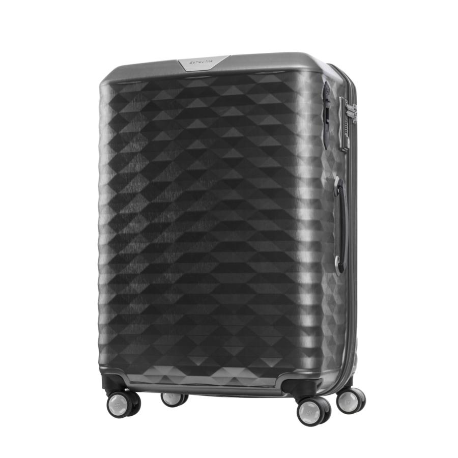Vali kéo nhựa Samsonite Polygon size 25 bánh xe