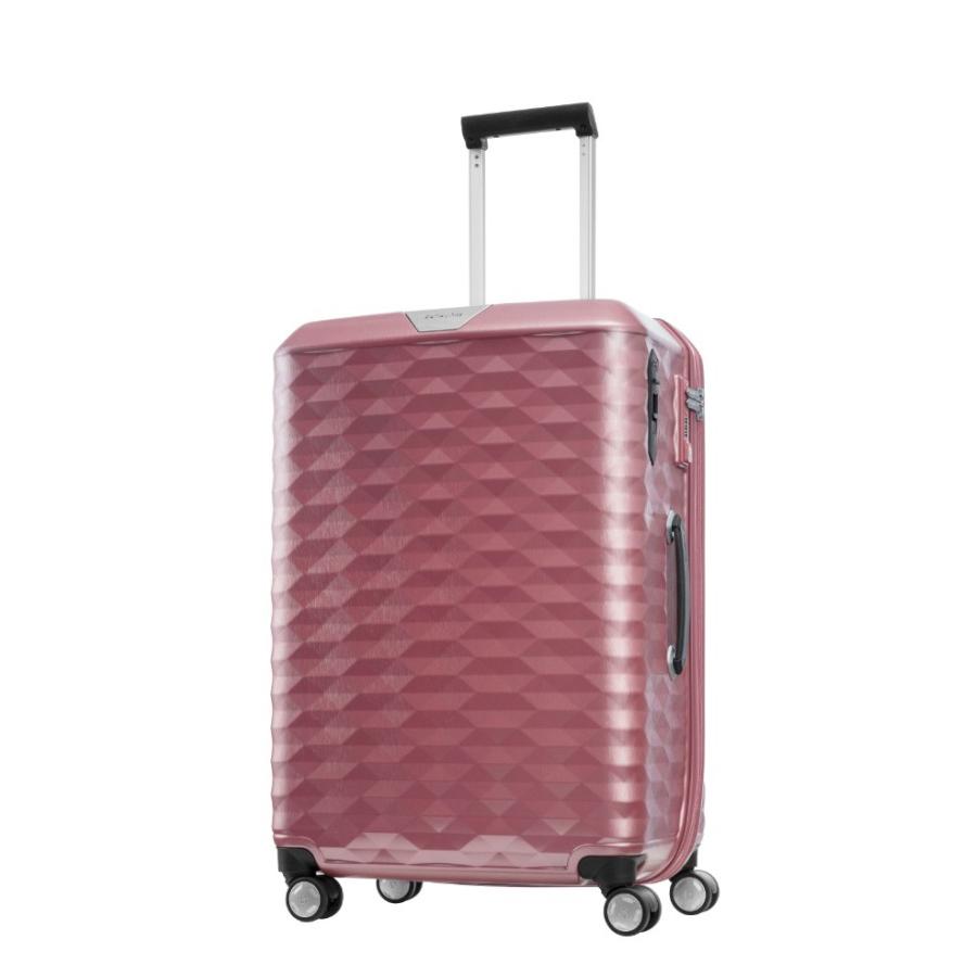 Vali kéo nhựa Samsonite Polygon size 25 màu hồng